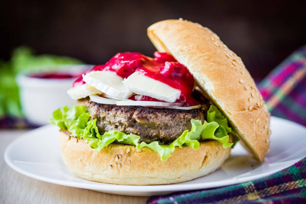 hamburger fromage brie